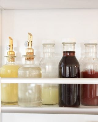 fridge organization containers