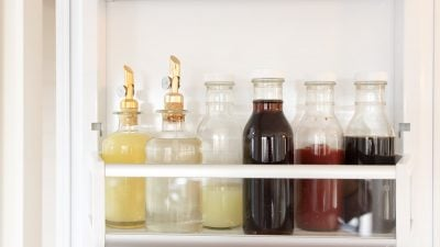fridge organization containers