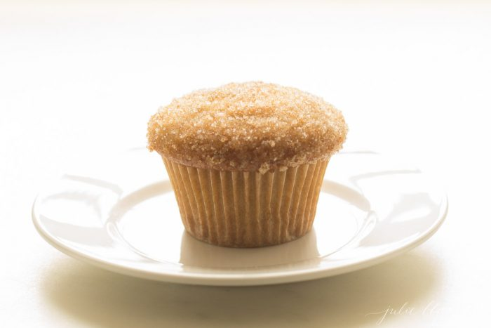 butter muffin on a plate