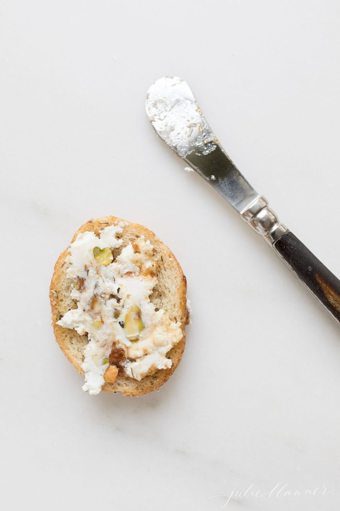 goat cheese log chevre cheese spread