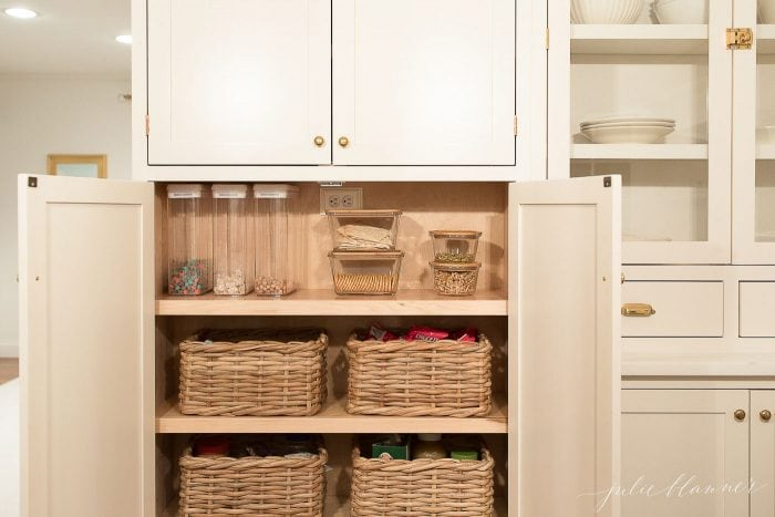 kitchen organization pantry