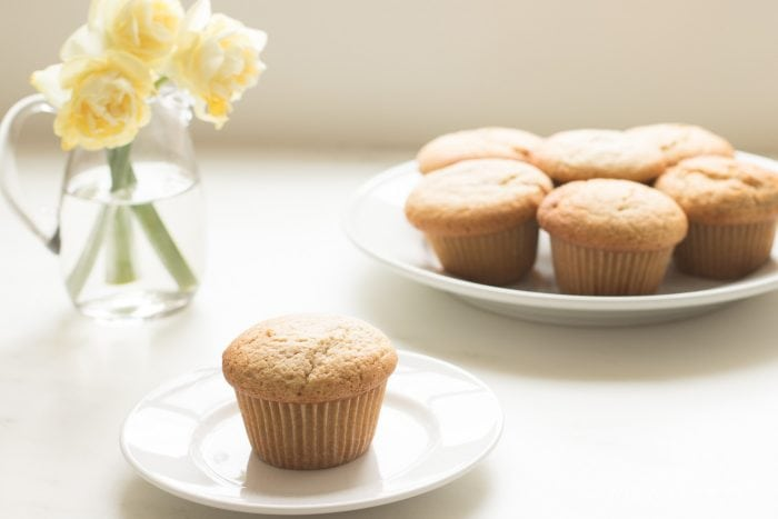 butter muffins on plate