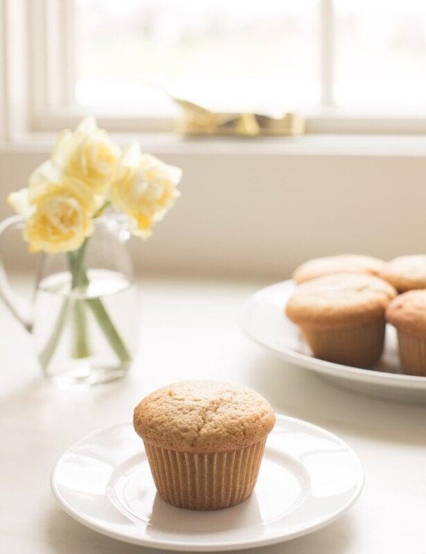 muffin recipe muffin on a plate