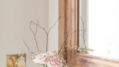 woodland flower arrangements