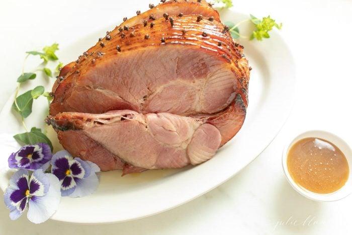 garnish a ham