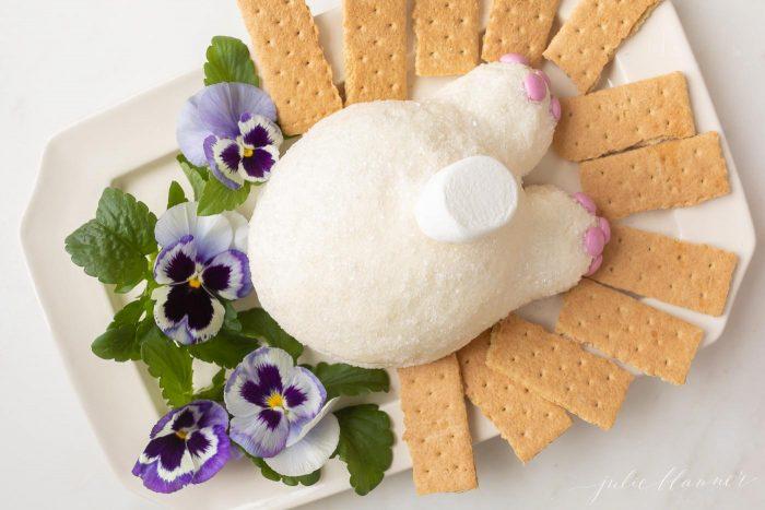 cute easter dessert