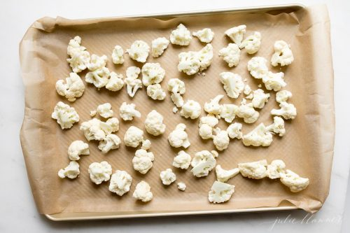 how to make easy baked cauliflower