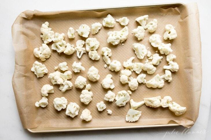 how to make easy baked cauliflower