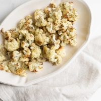 Roasted Cauliflower (Easy Baked Cauliflower)