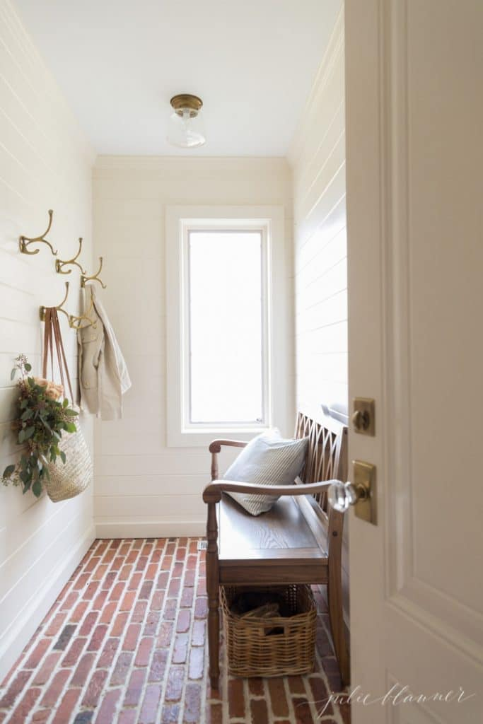 mudroom cream paint color