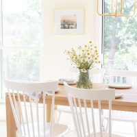 Eat In Kitchen with a Small Dining Room Table