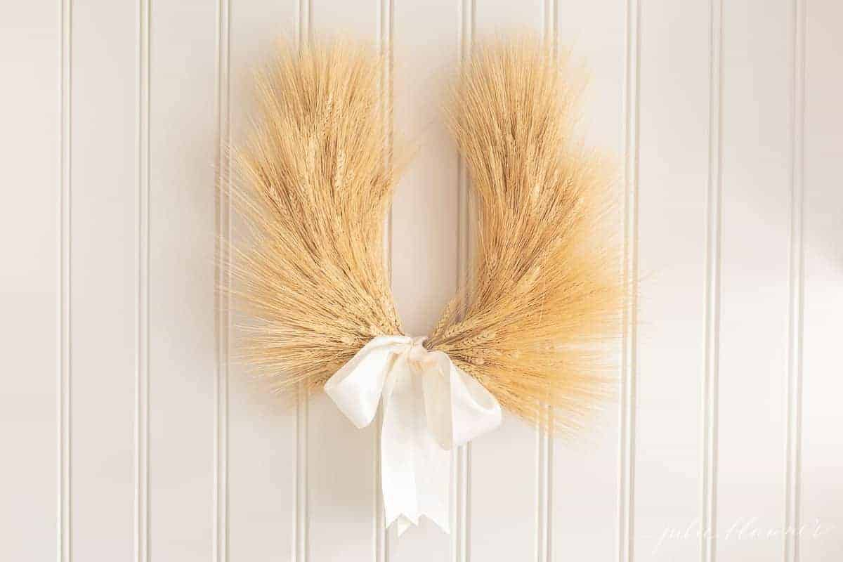laurel wreath hanging