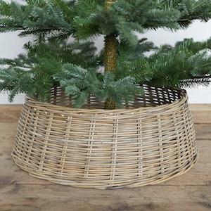 rattan tree skirt