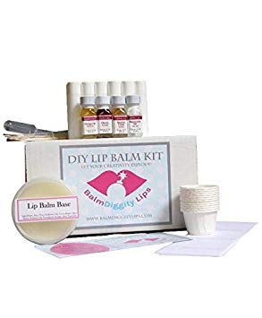 Ultimate DIY Lip Balm Kit | Everything You Need for 12 Tubes | 12 Lip Balms For Healthy Lips