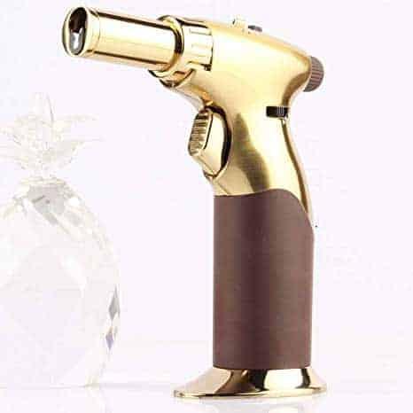 Luxury Single Hand All Adjustable Power Butane Blow Torch