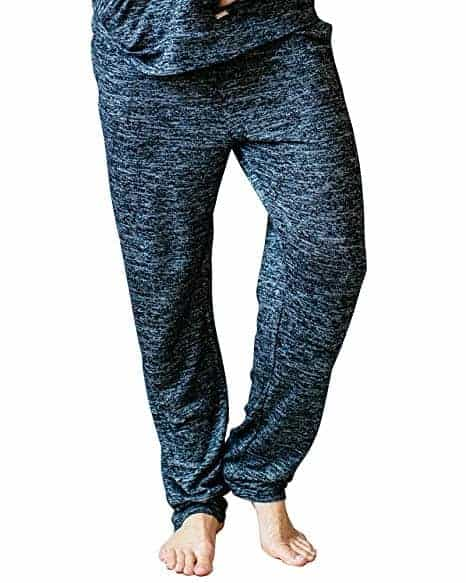 Hello Mello Womens Loungewear Pants with Pockets and Adjustable Elastic Waistband