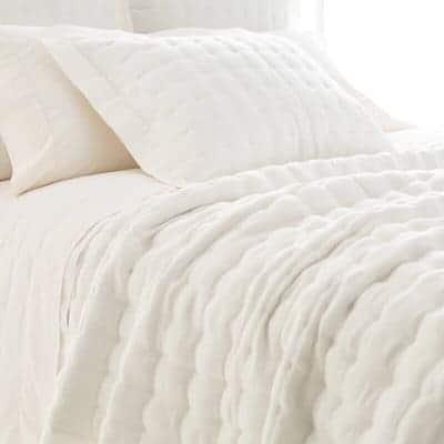 ivory quilt
