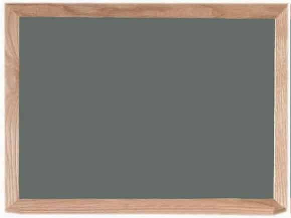 Magnetic Wall Mounted Chalkboard