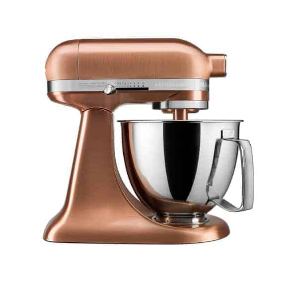 KitchenAid® Artisan Mini Stand Mixer with Flex Edge Beater, Copper