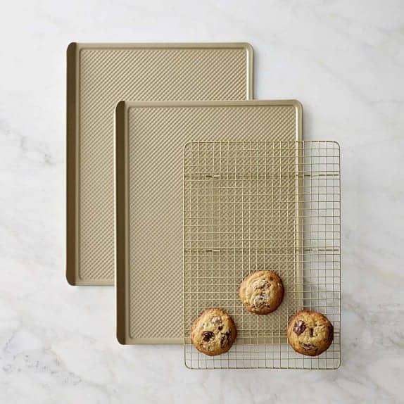 Williams Sonoma Goldtouch® Nonstick 3-Piece Cookie Bakeware Set