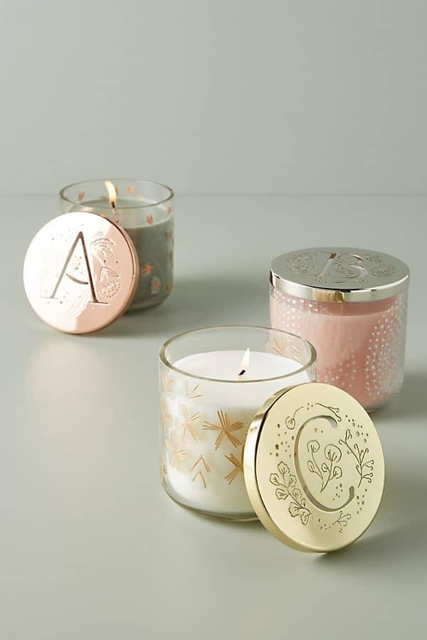 Lumi Monogram Candle