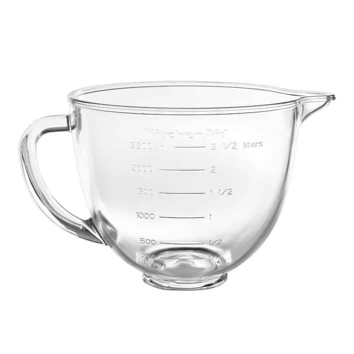 KitchenAid Glass Bowl, 3.5Qt