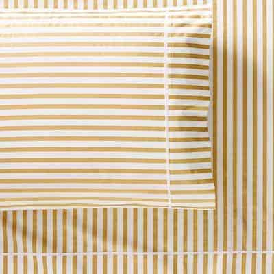 gold stripe sheets