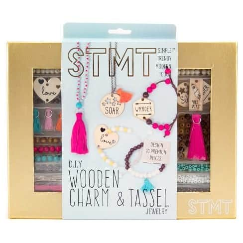 STMT DIY Wooden Charm & Tassel Jewelry Kit