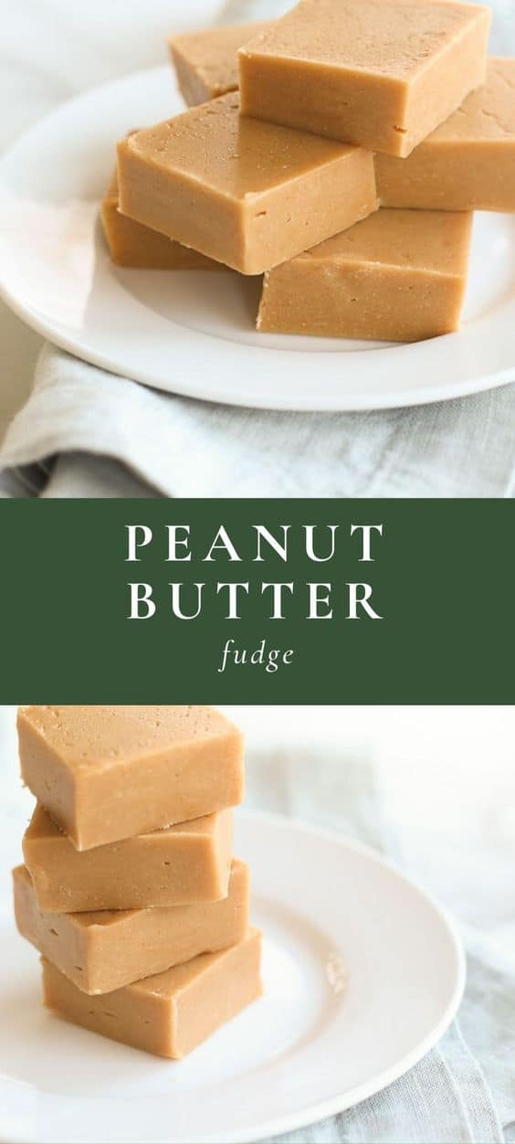 peanut butter fudge long pin