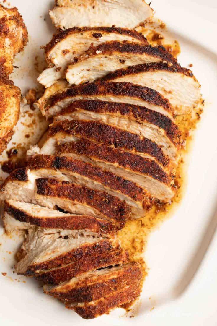 Zesty Blackened Chicken | A Not-Too-Spicy, Easy Chicken Recipe