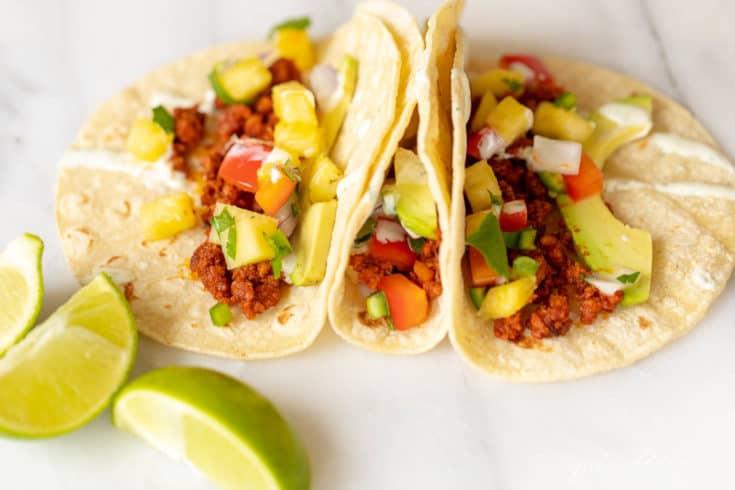 Easy Sweet and Spicy Chorizo Taco Recipe