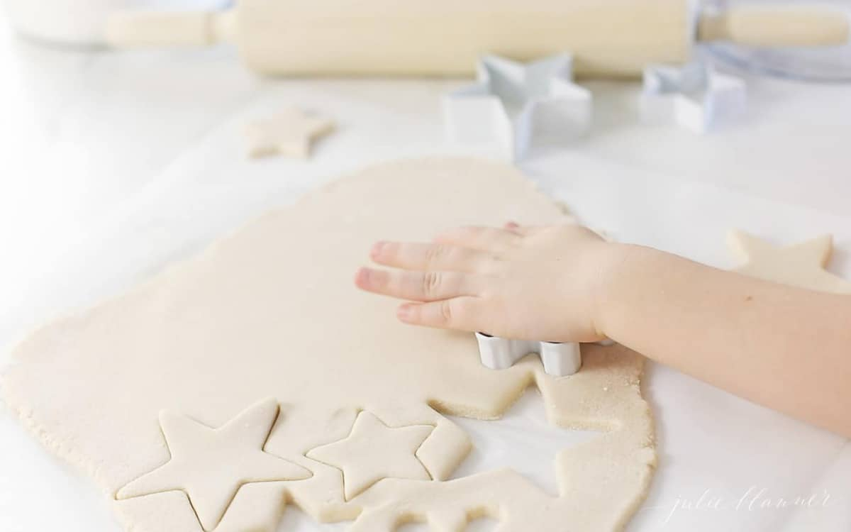 fun things to do at home making cutout cookies