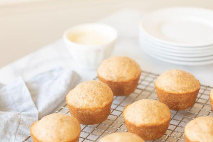 Easy Carrot Cake Muffins with a Cream Cheese Glaze