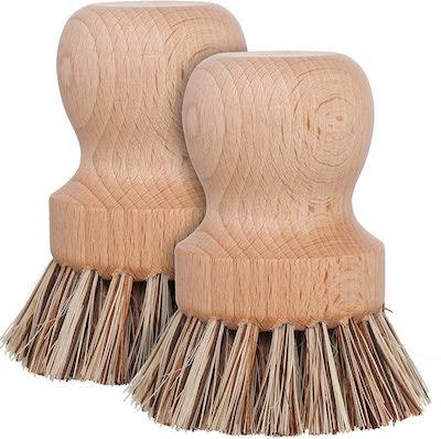 wood dish scrubbers