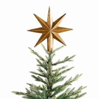 gold tree star