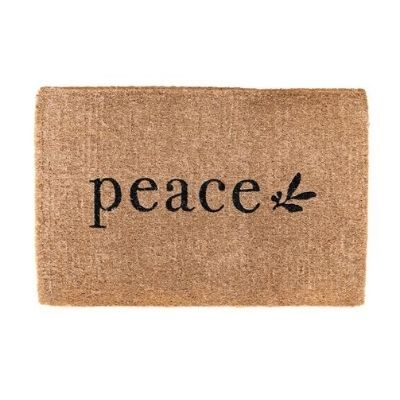 peace door mat