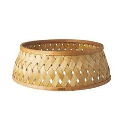 wood chip tree collar