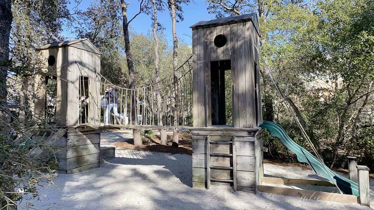A playground in Seaside Florida