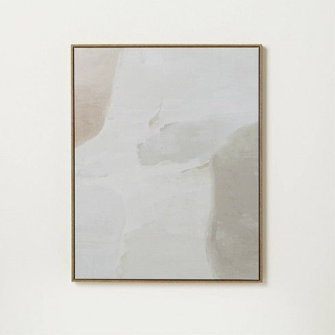 A neutral abstract painting from studio mcgee at target