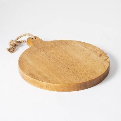round wooden cutting board from studio mcgee for target
