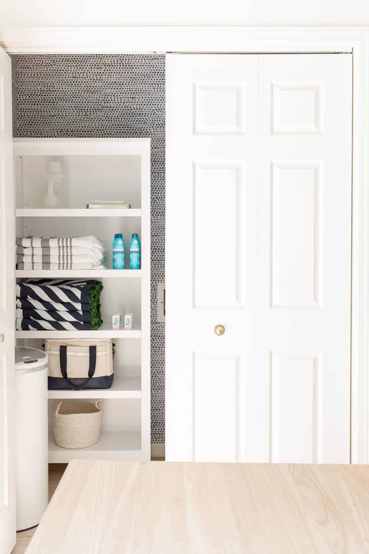 ideas for laundry cabinets in the kitchen
