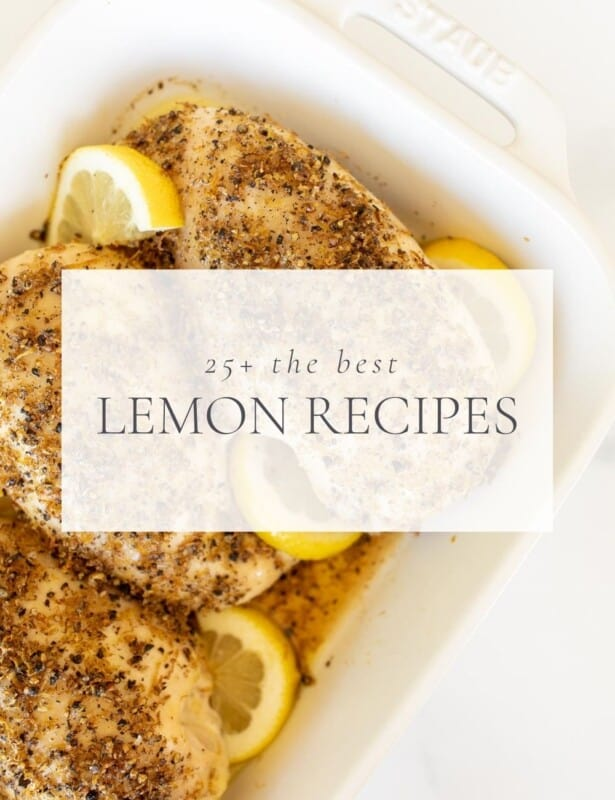lemon chicken with text overlay