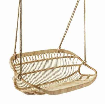 rattan swing