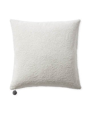 texture pillow cover with tassel