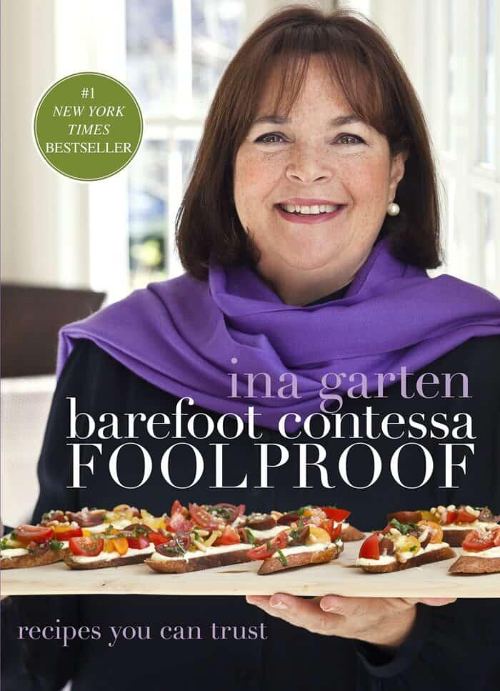 Cover of Ina Garten cookbook, Foolproof