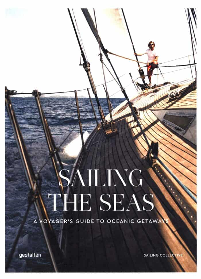 cover of sailing the seas coffee table book