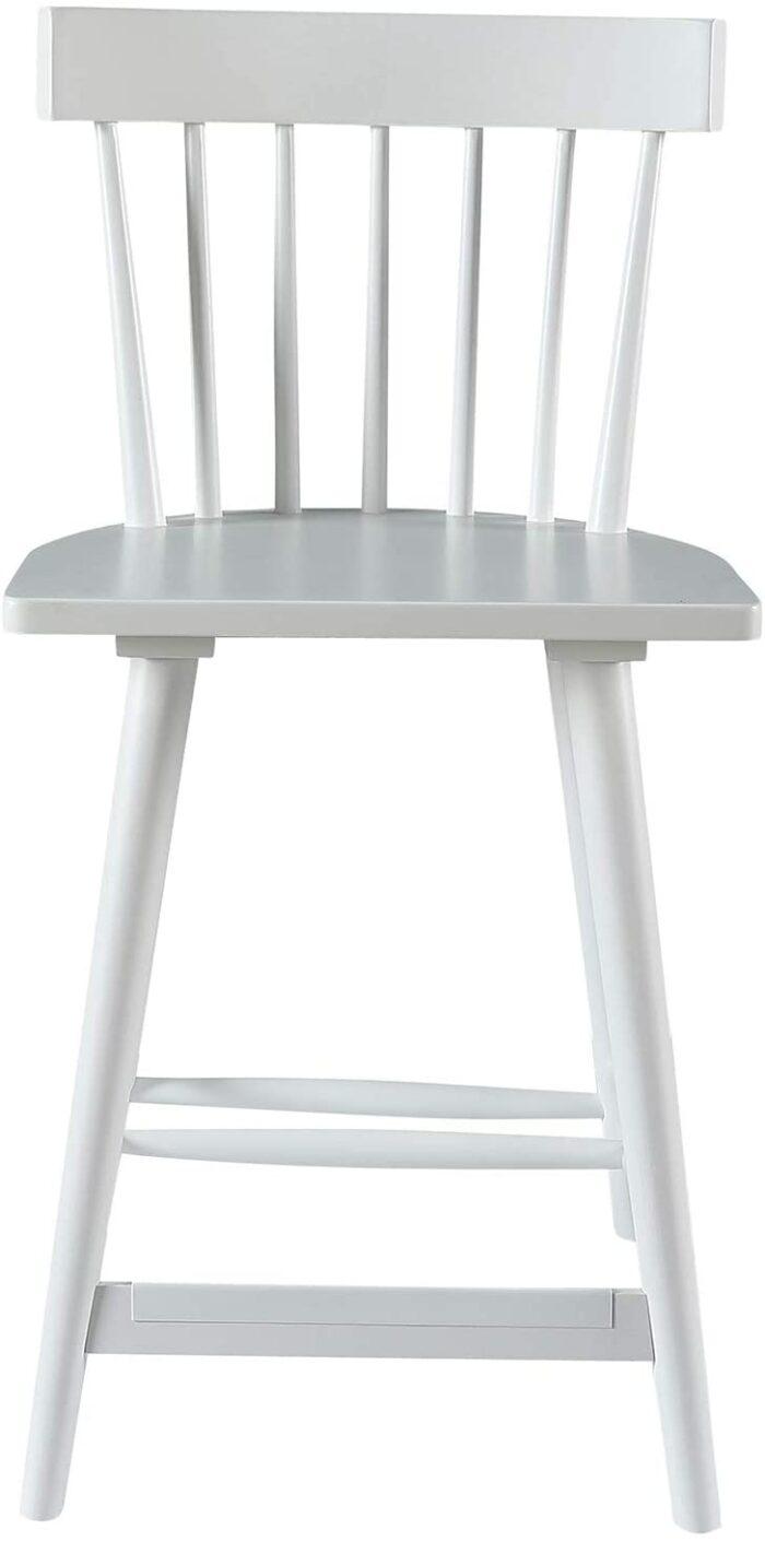 white windsor counter stool