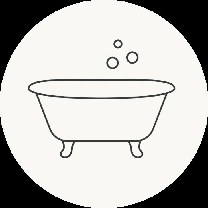 circle bath